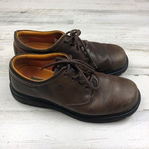 Timberland men's leather shoes (size9)